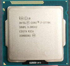 Intel Core I7-3770K Quad-Core Processor 3.5 GHz 8 MB Cache LGA 1155 (SR0PL)