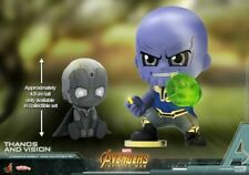 Hot Toys Thanos kill Vision Avengers:Infinity War Cosbaby Bobble-Head Figure Toy