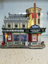 Lemax christmas village buildings 'The Tower Theater' RETIRED