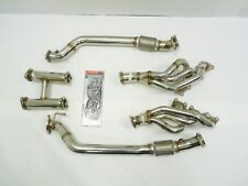 OBX Racing Stainless Exhaust Header Fits Hyundai Genesis Coupe 2010-16 3.8L V6
