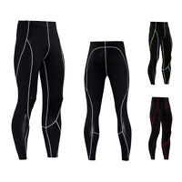 Men Base Layer Sports Fitness Workout Compression Pants Gym Running Yoga Tights