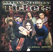Reggae National Tickets – Un Affare Difficile cd 1997   Fuori Catalogo Mint