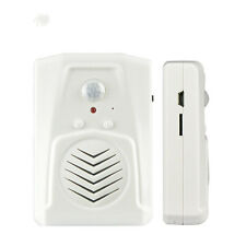 Wireless MP3 Music Doorbell PIR Infrared Motion Sensor Door Bell Alarm
