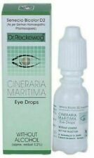 5 X DR RECKEWEG CINERARIA MARITIMA EYE DROPS Without Alcohol 10ml each