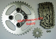 520X80 Drive Chain 12T Front 42T Rear Sprockets Kit Honda Trx 200Sx Fourtrax