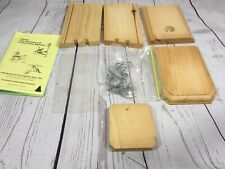 New listing Coveside Conservation Products Bird Birdhouse Kit Handcrafted in Main