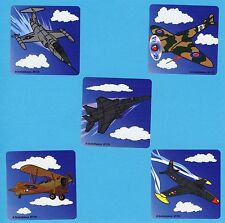 15 Jet Fighter Planes - Large Stickers - Party Favors