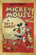"Walt Disney's Mickey Mouse Movie Poster Replica 13x19"" Photo Print"