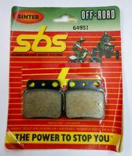 SBS SINTER REAR BRAKE PADS SUZUKI LTR450 LTZ400 LT250 LT500 KSF400 KFX400 DVX400