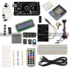 New SainSmart Mega2560 R3 + LCD 1602 Keypad + Prototype Starter Kit For Arduino