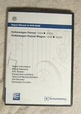 Volkswagen Passat 1998 - 2005 Wagen DVD Repair Manual
