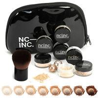 Mineral Makeup Starter Gift Set Kit With Bag - Bare Skin Minerals by NCinc. ®