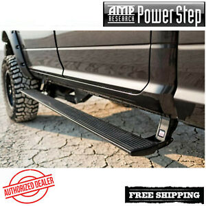Amp Research® PowerStep Plug N Play Running Boards 2017-2019 Ford F250 F350 SD