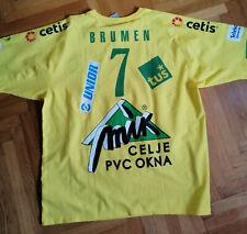 MATJAZ BRUMEN match worn Jersey Handball club RK Celje Pivovarna Lasko SLovenia