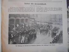 1916 die Woche 1 /  Beerdigung Emmich Hannover / Konstantinopel Türkei