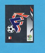 PANINI-GERMANY 2006-Figurina n.455- SCUDETTO/BADGE - FRANCIA -NEW BLACK