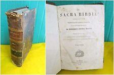 Martini LA SACRA BIBBIA secondo la volgata - vol. secondo - Napoli 1844