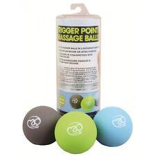 Fitness Mad Trigger Point Massage Ball Set Multi coloured