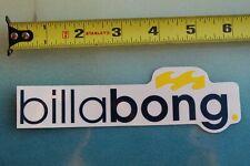 BILLABONG Surfboards Australia Wetsuits Clear Wave Rare Vintage Surfing STICKER