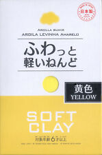 DAISO JAPAN SOFT CLAY YELLOW 1 Pack New By SAL Free