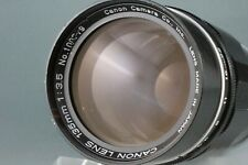 Canon 135mm f/3.5 Leica Screw L39 LTM Mount Rangefinder Lens #129