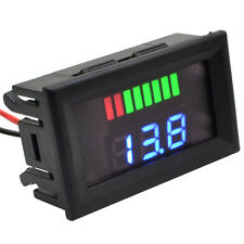 24V Digital Led Display Acid Electromobile Volt Gauge Motorcycle Voltage Meter