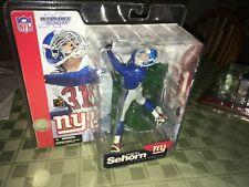 Jason Sehorn New York Giants Blue Jersey Variant McFarlane Toys Figure MIP