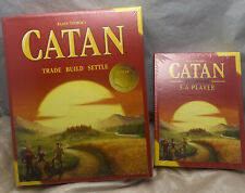 Catan Base Board Game + 5-6 Player Extension Pack Bundle * NEW Sealed