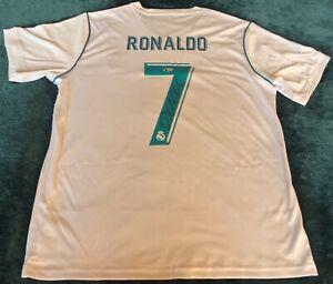 Cristiano Ronaldo Signed Real Madrid Jersey Beckett Soccer Football Autographed
