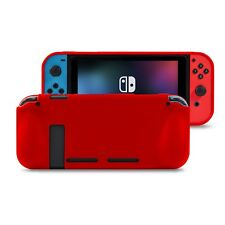 Orzly Comfort Grip Case for Nintendo Switch - Red