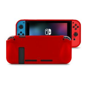 Nintendo Switch Comfort Grip Case in Red by Orzly