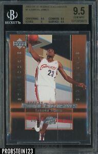 2003-04 Upper Deck Rookie Exclusives #1 LeBron James Cavaliers RC BGS 9.5