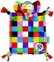 Rainbow Designs EL1448 Elephant Elmer Comfort Blanket Multicolour