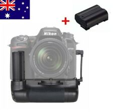 Vertical Shutter Battery Grip for Nikon D7500 Camera BG-2W + EN-EL15 Battery