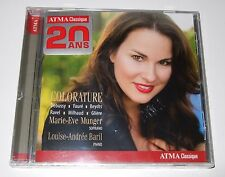 Colorature (CD, 2014, ATMA) Marie-Eve Munger, Louise-Andrée Baril - new