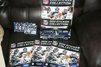 2015 Panini NFL Football Sticker Complete Store Display! Albums & Stickers!! WOW