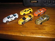 RARE Vintage Lot of 6, 5 Different 1998 IROC Pontiac Firebird Formula Race Cars