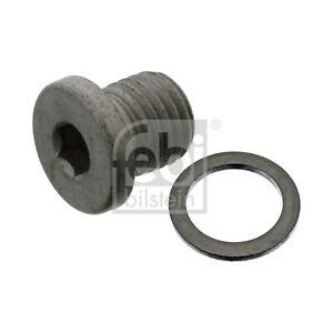 Screw Plug (Fits: Mercedes Benz) | Febi Bilstein 46398 - Single