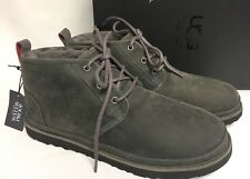 UGG Australia Neumel Waterproof Leather Lace Up Boot Charcoal 1017254 Men's WP