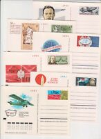 Russia 1972-73  6 Postal Cards with original stamp #8-13, VF