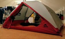 MSR Zoic 2. 3 Season Ultralight Hicking/Backpacking Tent latest model in grey.
