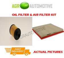 DIESEL SERVICE KIT OIL AIR FILTER FOR OPEL ASTRA 1.3 95 BHP 2013-