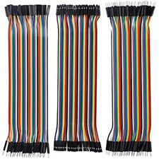 120pcs Breadboard Jumper Wires 20cm Dupont Cable 40pin M To F Free Ship