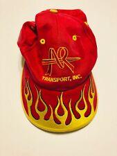 Vintage Falcon AR Transport Flame Adjustable Hat