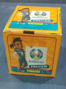 EURO 2020 PREVIEW PANINI  Box  60 Pack Sticker