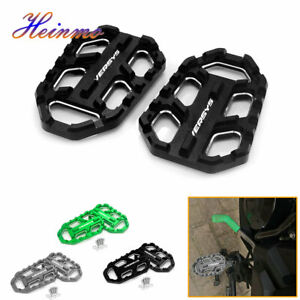 Motorcycle Front Footpegs Foot Pegs For Kawasaki VERSYS X300 650 1000 2015-2019