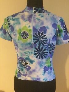 SheBeest Half Zip Long Sleeve Cycling Jersey GORGEOUS Women's Size XS NEW