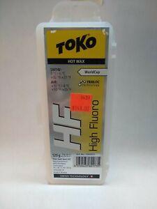 Toko HF Yellow High Fluoro Glide Wax