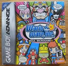 WARIO WERE INC MEGA MICRO GAMES NINTENDO GAME BOY ADVANCE NEW USA VERSION