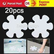 20Pcs Non-Slip Applique Stickers Bath Tub Treads Anti Skid Shower Bathroom Mat
